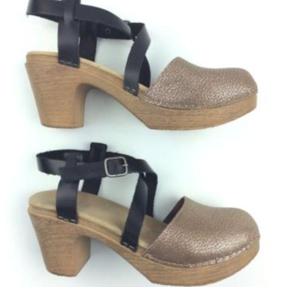 Calou Stockholm Shoes - Calou Stockholm TILDA Clogs Women Size 39 US 9M c29d8de6f1